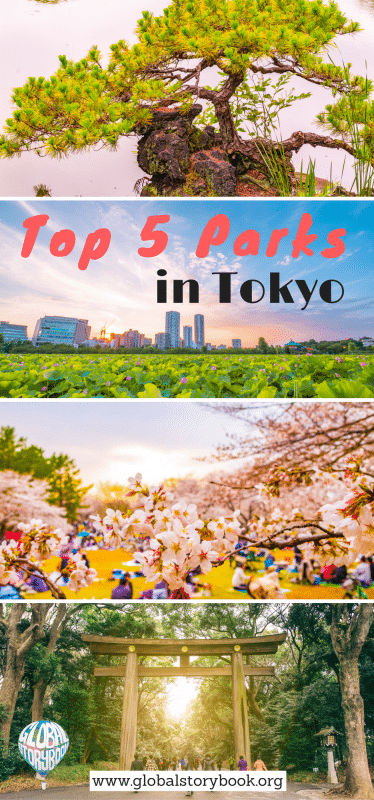 Top 5 Parks to Visit in Tokyo - Global Storybook