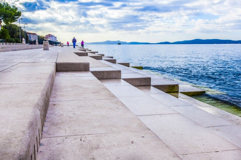Zadar's Sea Organ, Zadar, Croatia - Global Storybook