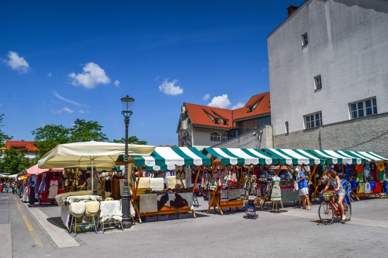 Central Market, Slovenia - Global Storybook