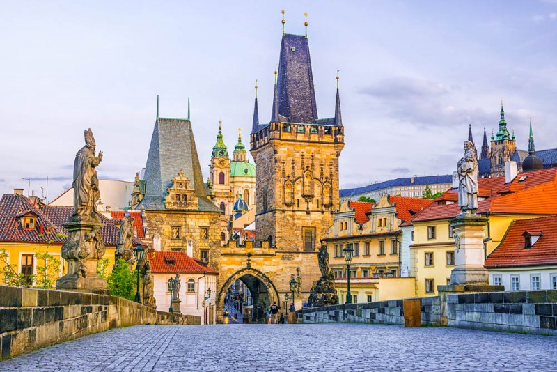 Charles Bridge, Prague, Czech Republic - Global Storybook