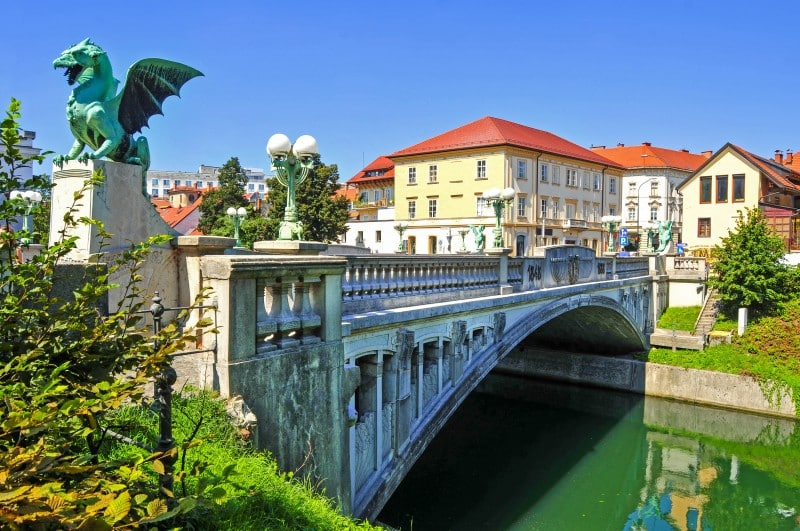 Dragon Bridge, Ljubljana, Slovenia - Global Storybook