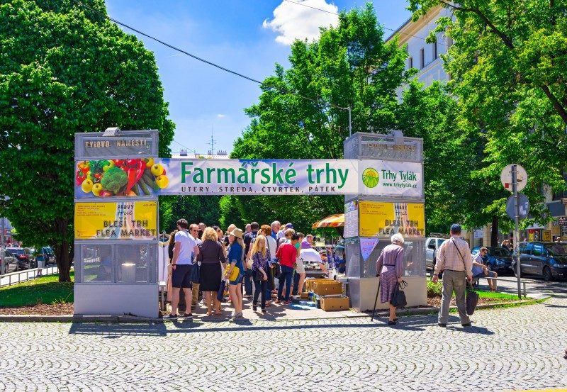 Farmer's Market, Prague, Czech Republic - Global Storybook