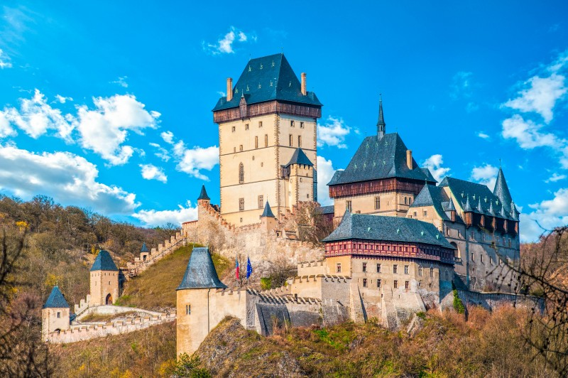 Karlštejn Castle, Prague, Czech Republic - Global Storybook