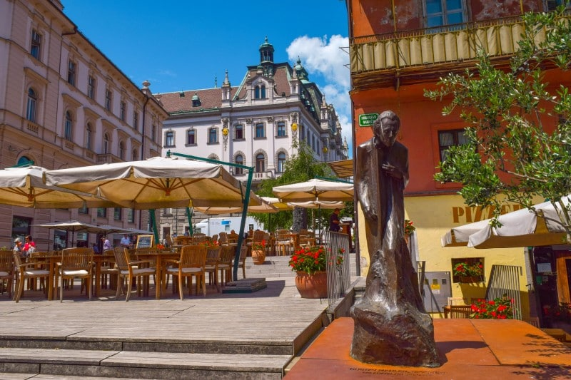 The Old City Center, Ljubljana - Global Storybook