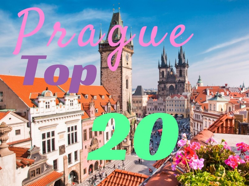 Prague: The Top 20 Attractions - Global Storybook