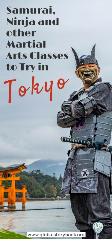 Samurai, Ninja and other Martial Arts Classes to Try in Tokyo - Global Storybook