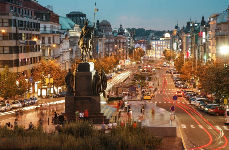 Wenceslas Square, Prague, Czech Republic - Global Storybook