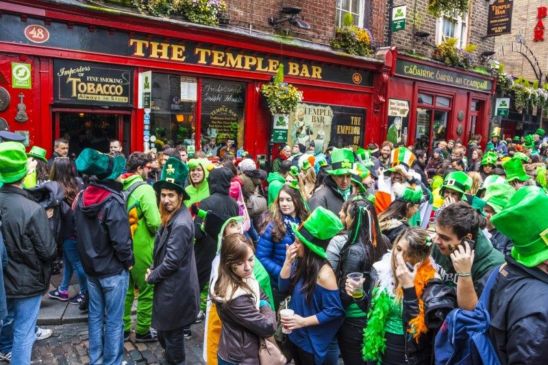 St Patrick's Day Parade in Dublin - Global Storybook