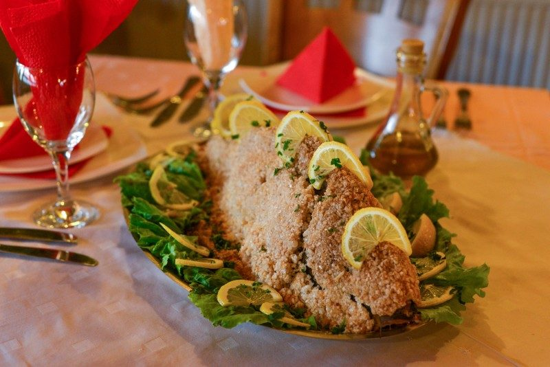 Baked Carp fish in salt crust, Christmas in Macedonia - Global Storybook