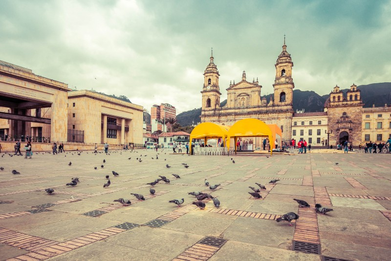 Bolivar Square, Bogota, Colombia - Global Storybook