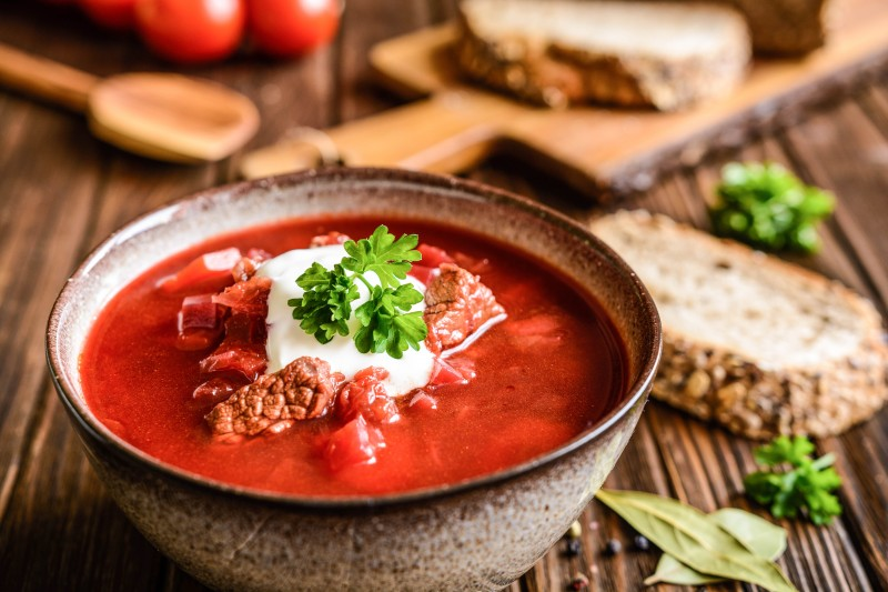 Borsch A Traditional Ukrainian Beetroot Soup Global Storybook