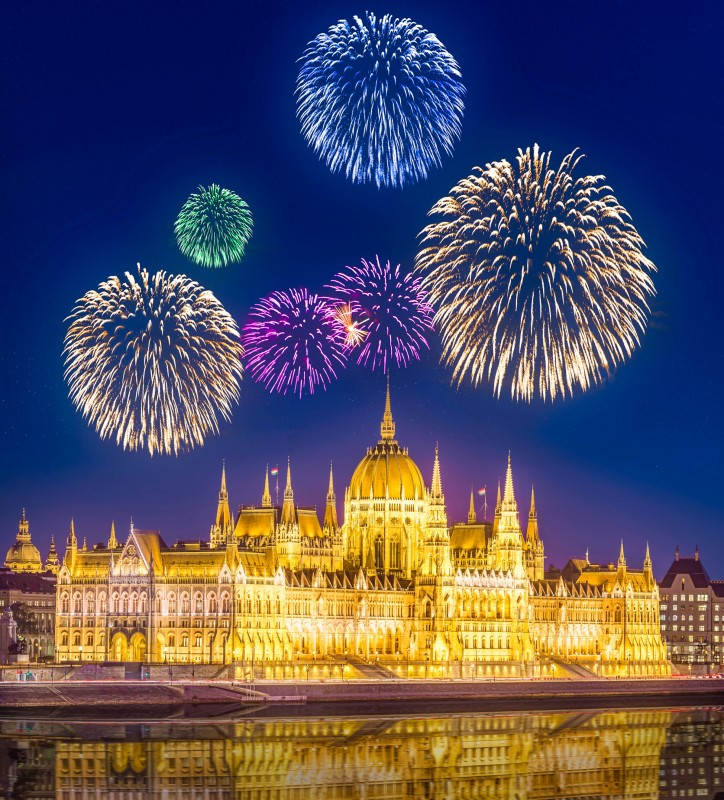 Budapest, Hungary, New Year's Eve - Global Storybook