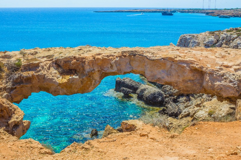 Cape Greco, Natural Bridge, Cyprus - Global Storybook
