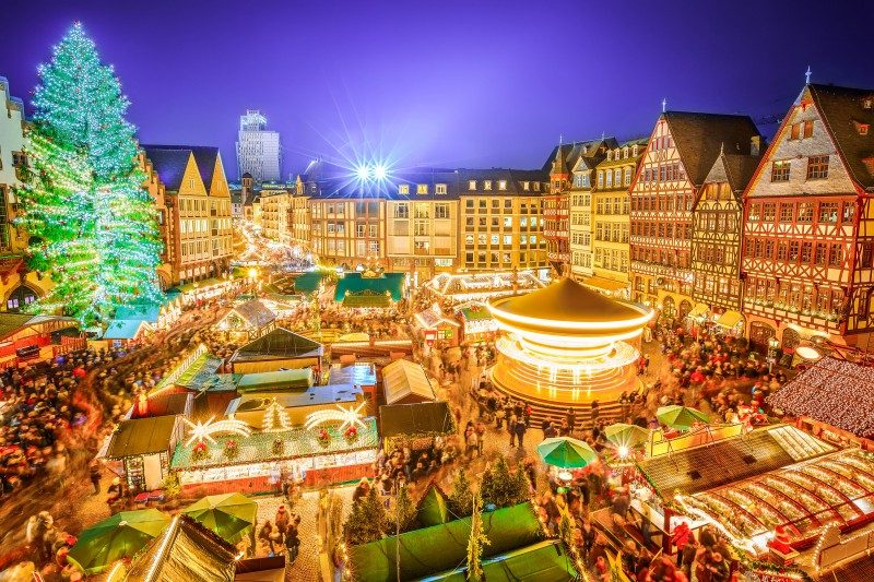 Christmas Market in Frankfurt, Germany - Global Storybook