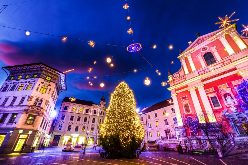 Christmas and the New Year's Holidays in Ljubljana - Global Storybook