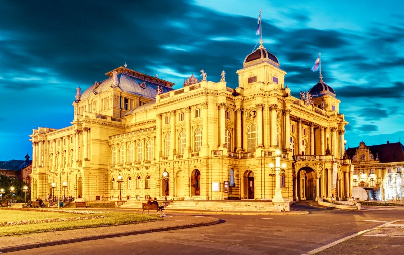 Croatian National Theatre, Zagreb, Croatia - Global Storybook
