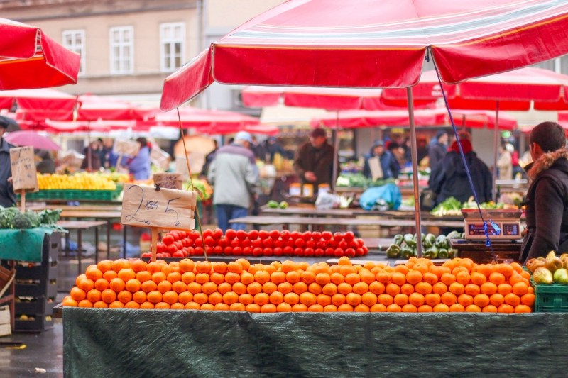 Dolac Market in Zagreb, Croatia - Global Storybook