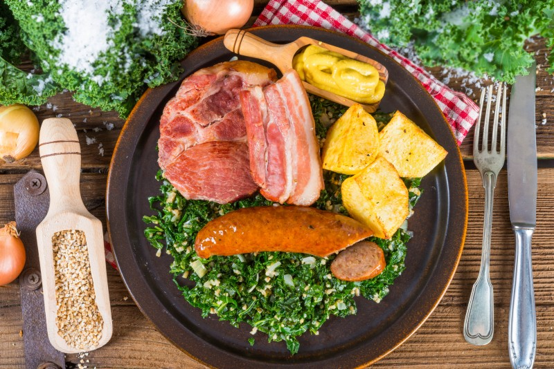 Grünkohl - Northern German Curly Kale Recipe - Global Storybook