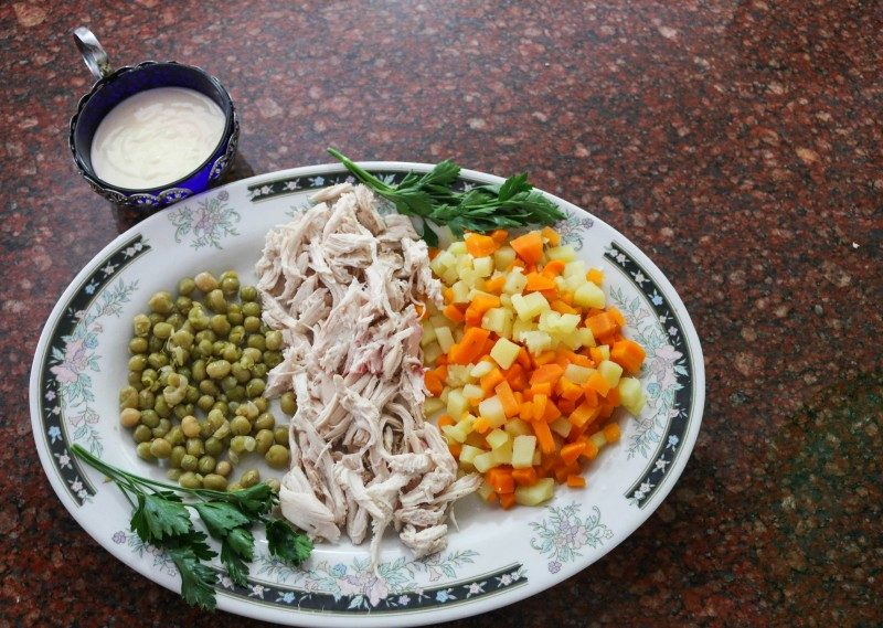 Ensalada de Gallina (Chicken Salad) – Venezuelan Christmas Specialty - Global Storybook