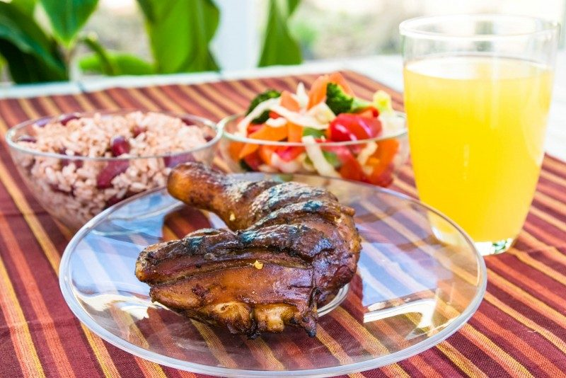 Jerk Chicken, Christmas in Jamaica - Global Storybook