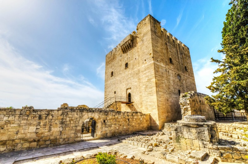Kolossi Castle, Cyprus - Global Storybook