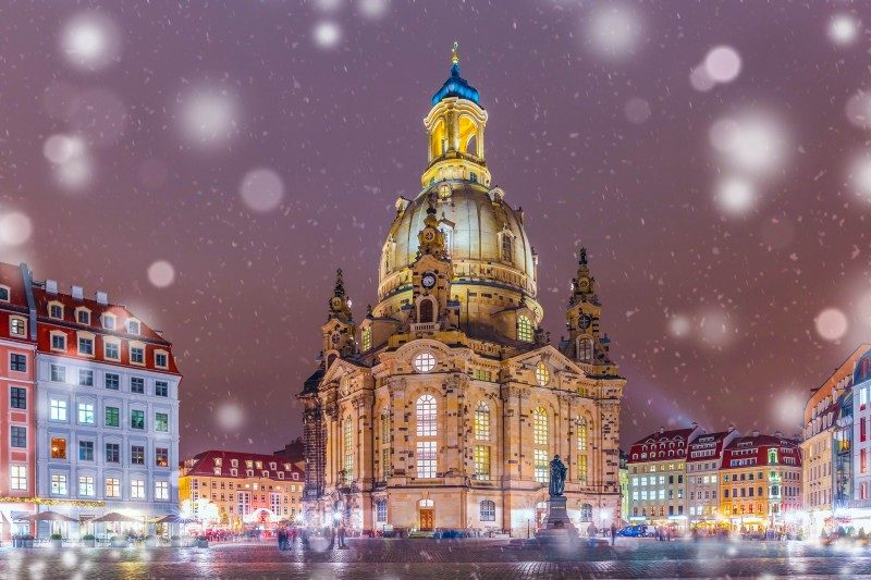 Lutheran church of Our Lady aka Frauenkirche, Dresden, Saxony, Germany - Global Storybook