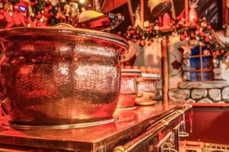Mulled wine pot in the Berlin Christmas Market - Global Storybook