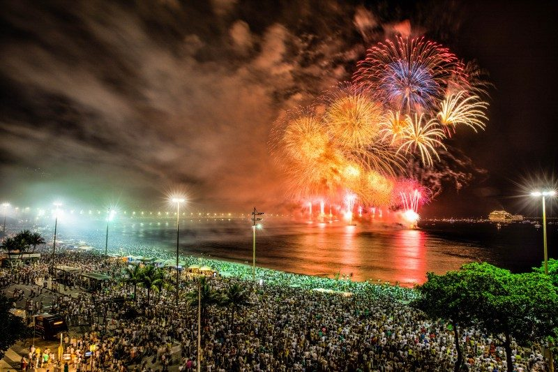 New Year's Eve at Copacabana Beach, Rio de Janeiro, Brazil - Global Storybook