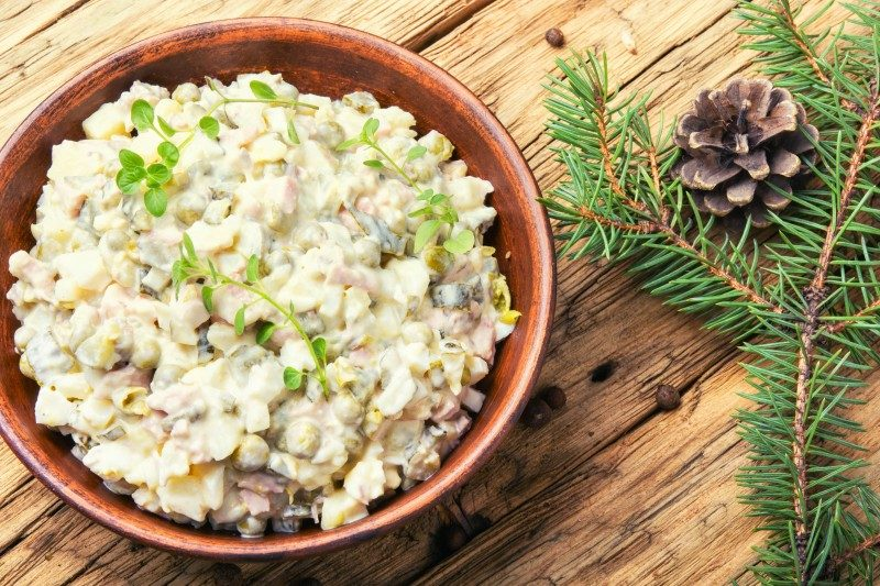 The Russian Salad, Argentina - Global Storybook