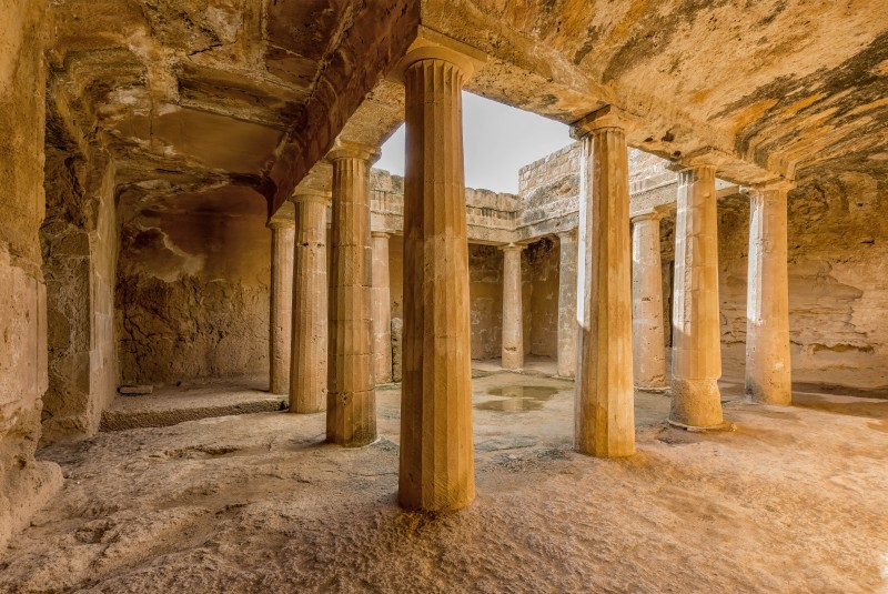 Tombs of the Kings, Paphos, Cyprus - Global Storybook