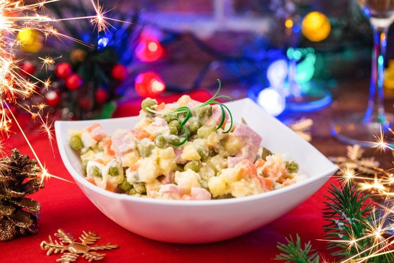 Traditional Russian Dishes Served on the New Year's Eve - Global Storybook