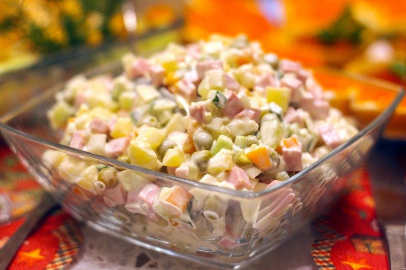 Traditional Russian Salad Olivie recipe - Global Storybook