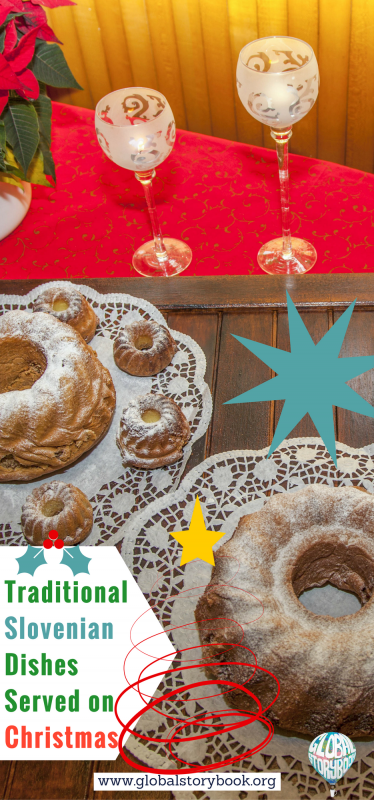 Traditional Slovenian Dishes Served on Christmas - Global Storybook