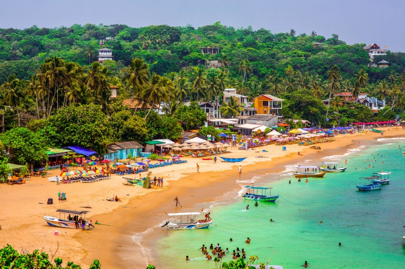 Unawatuna Beach, Sri Lanka - Global Storybook