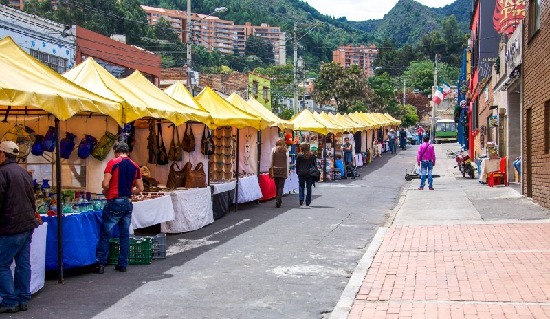 Usaquen Flea Market, Bogota, Colombia - Global Storybook