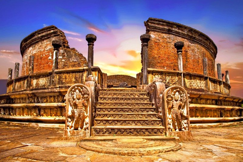 Ancient temples of Polonnaruwa, Sri lanka - Global Storybook
