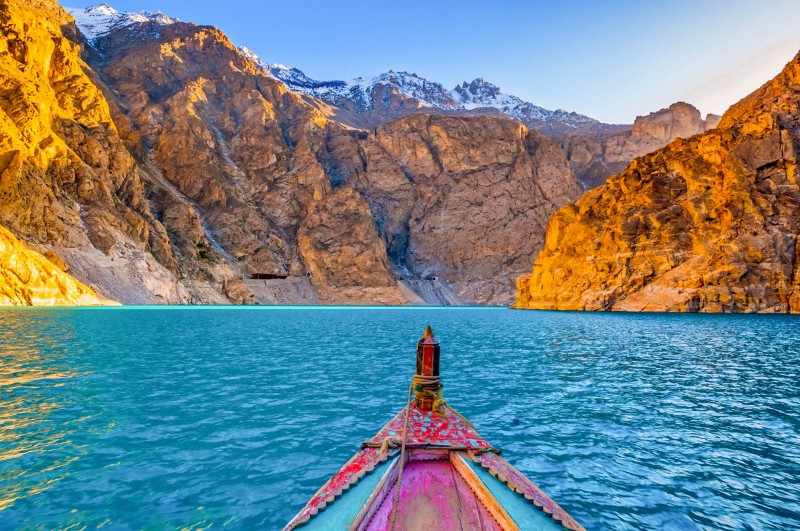 Attabad Lake in Northern Pakistan - Global Storybook