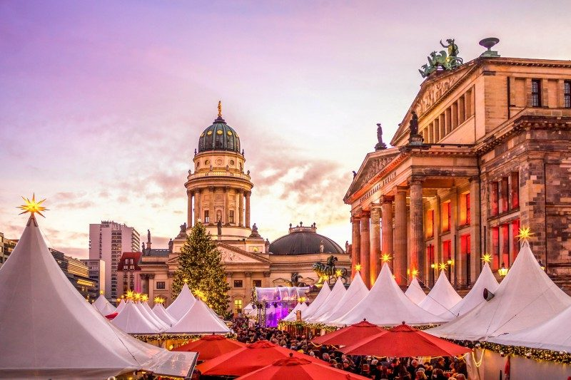 Berlin, Christmas Market, Gendarmenmarkt Germany - Global Storybook