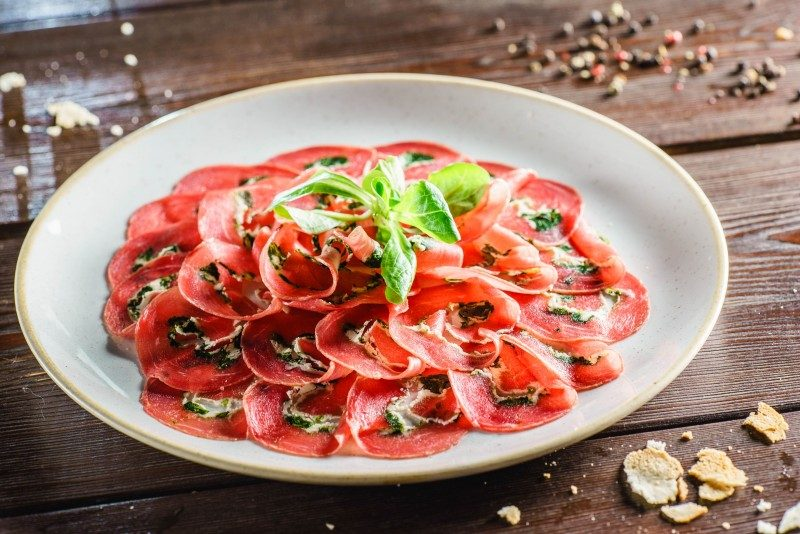 Carpaccio Beef - Global Storybook