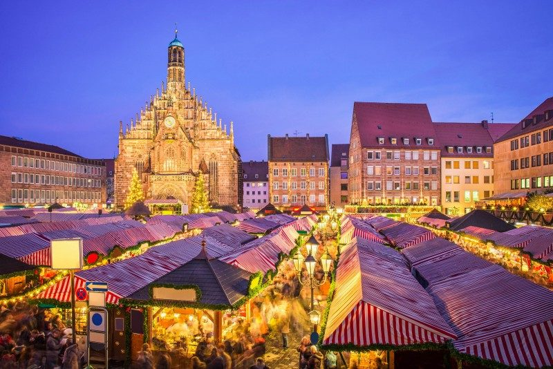 Christmas market Nuremberg, Germany - Global Storybook