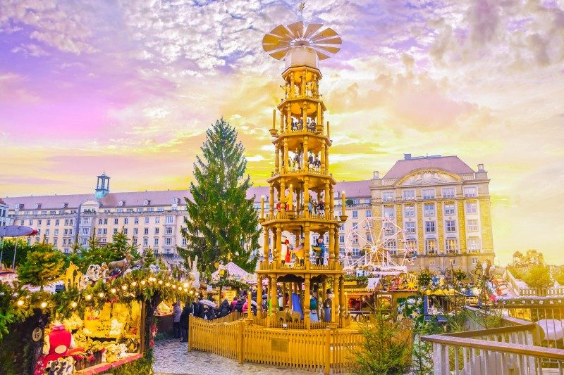 Christmas market Striezelmarkt in Dresden, Germany - Global Storybook