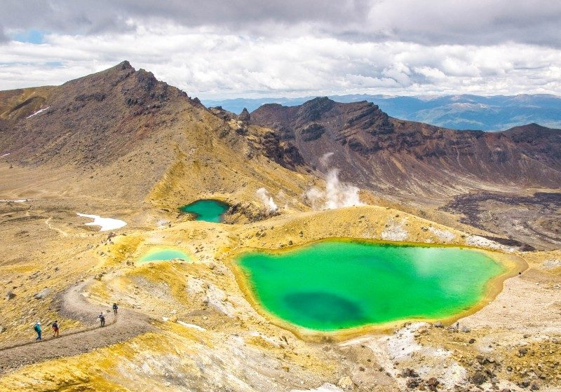 Emerald Green Lake - Tongariro National Park, New Zealand - Global Storybook