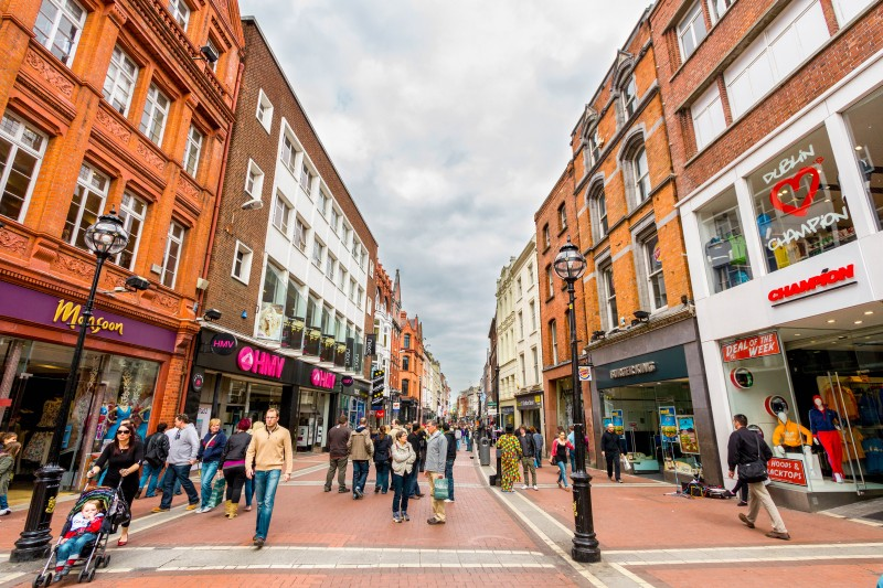 Grafton Street, Dublin, Ireland - Global Storybook