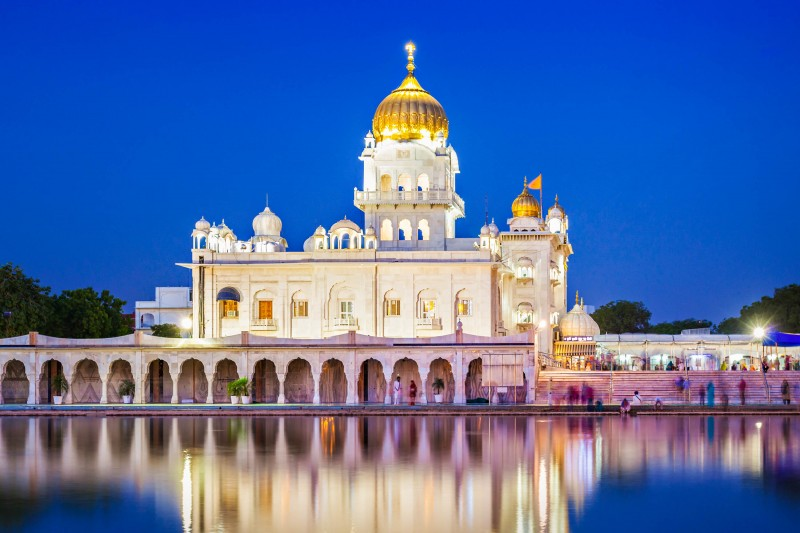 Gurdwara Bangla Sahib, New Delhi, India - Global Storybook