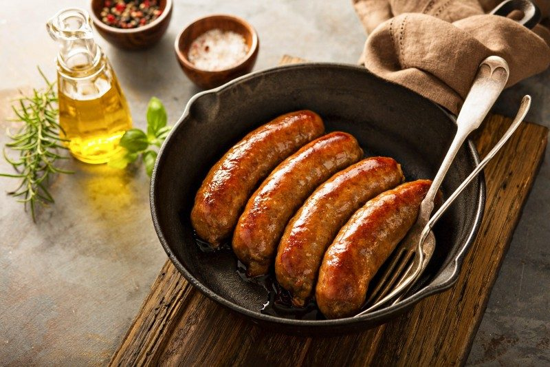 Homemade pork sausages - Global Storybook