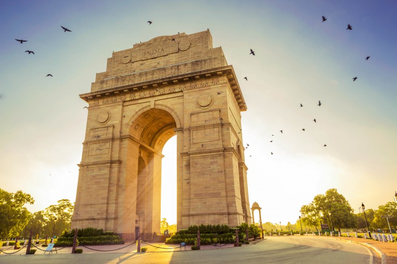 India Gate, New Delhi, India - Global Storybook
