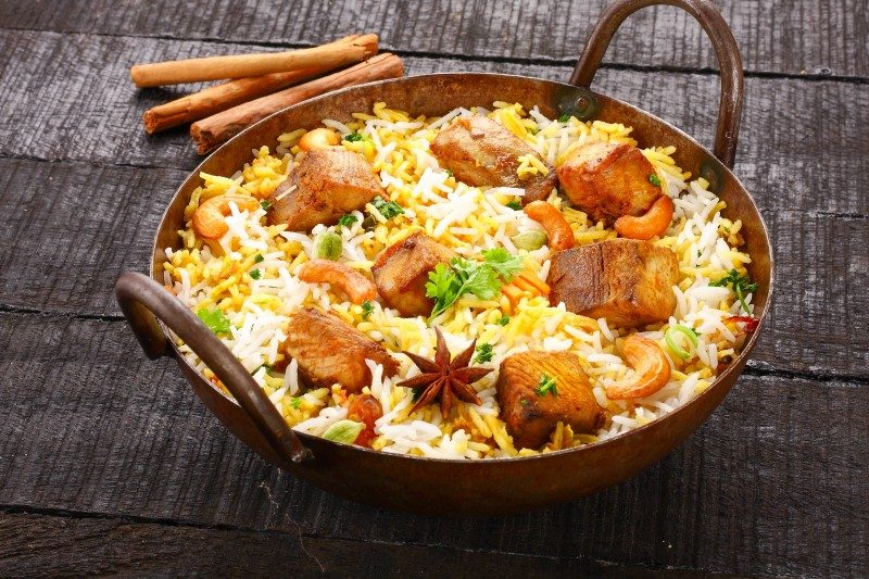 Indian biryani - Global Storybook