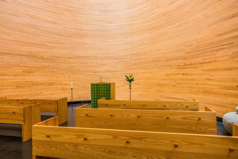 Kamppi Chapel of Silence, Helsinki, Finland - Global Storybook