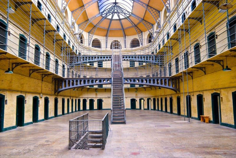 Kilmainham Gaol (Irish- Príosún Chill Mhaighneann), first built in 1796, is a former prison, located in Kilmainham in Dublin, Ireland - Global Storybook
