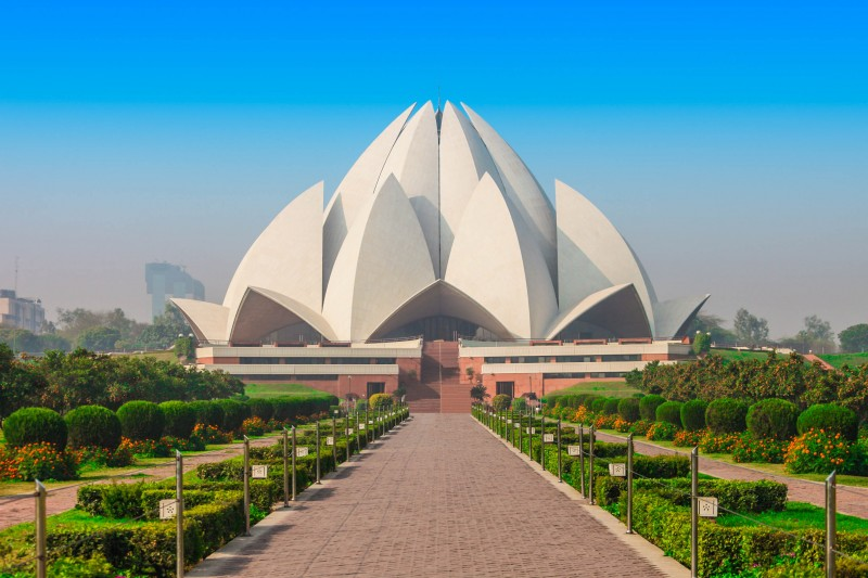 Lotus Temple, New Delhi, India - Global Storybook
